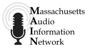 Massachusetts Audio Information Network Logo